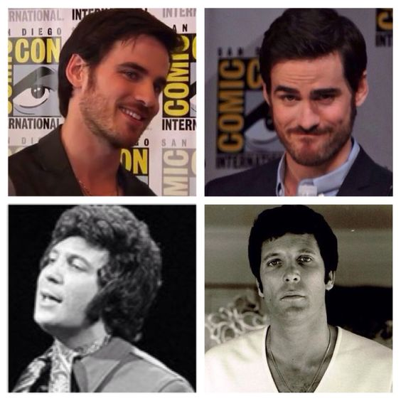 Colin O Donoghue and Tom Jones. These are the guys I am in love with, I love them so much. ♥️♥️♥️♥️♥️