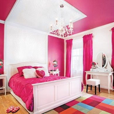 Moulures et couleur pour la chambre chambre inspirations d coration et r novation - Bed plafond ...