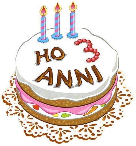 3 Anni Torta Niente Panico Nel 2020 Buon Compleanno Compleanno Auguri Di Compleanno