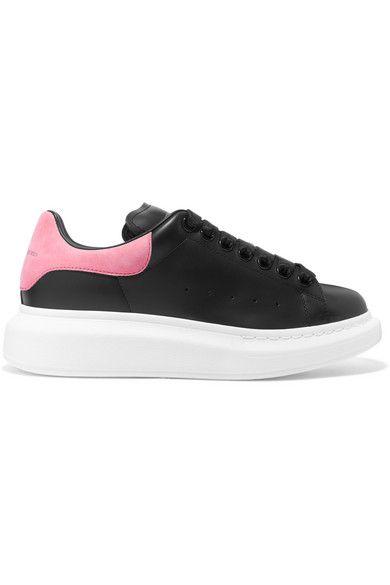 Sole sneakers, Pink suede heels