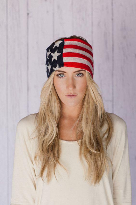 american flag band