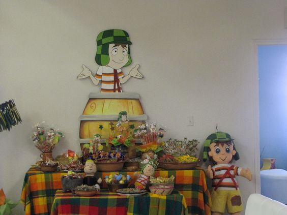 "Candy Buffets "" El Chavo Del Ocho"":"