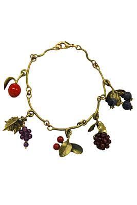 Michael Michaud Fruit Charm Bracelet http://www.youngideasfashion.com/store/product/14245/Michael-Michaud-Fruit-Charm-Bracelet/