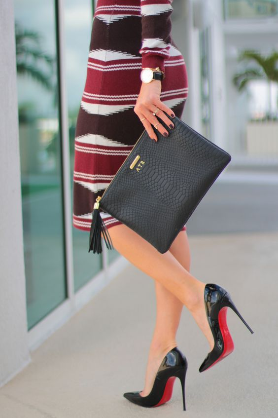 shoes with spikes for men - so kate 120mm christina louboutin pumps and uber clutch black gigi ...