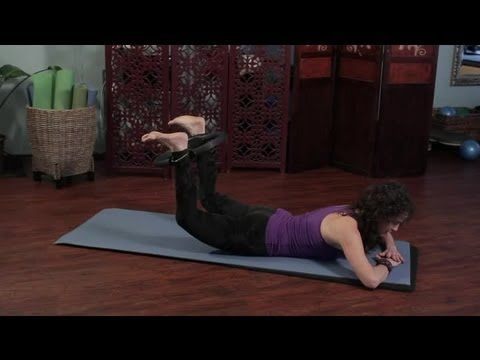 How to Use a Pilates Ring to Lift the Buttocks & Get Bigger H... : Pilates & Stretching for Fitness