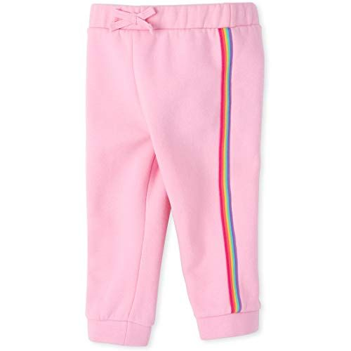 The Childrens Place Girls Toddler Uniform Active French Terry Jogger Pants