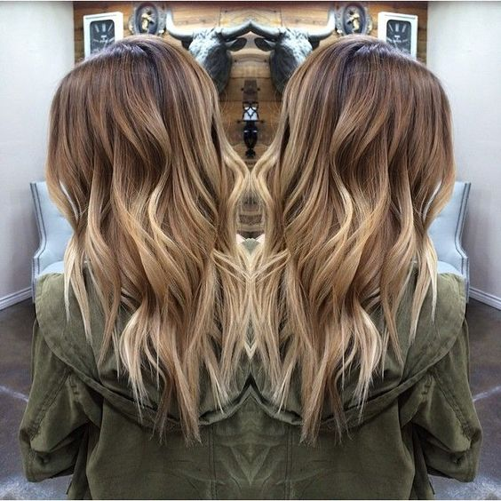 Hair goal. Length. Color. All!