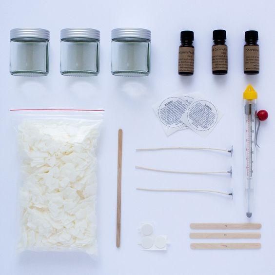 The Scent Sampler Kit (clear jars) #DIYsoycandles #soy #candles #candlemaking #Candlemakingsupplies #candlesupplies #Craftycandlesupplies #howtomakesoycandles #homemade #handmade #DIY