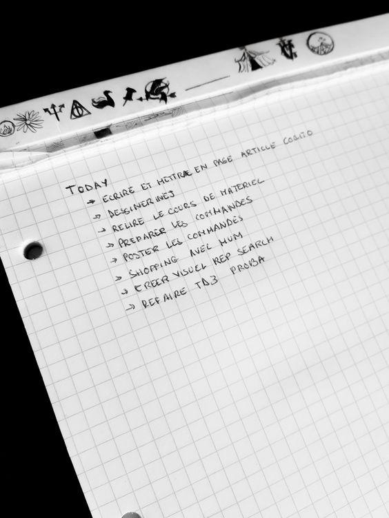 5 conseils pour une To do list efficace