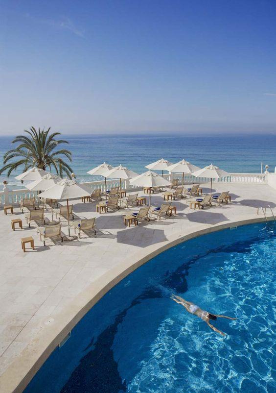 Hotel nixe palace hotel de lujo a pie playa en la cala - Spas palma de mallorca ...