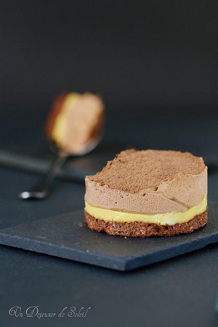 Entremets chocolat passion pierre herm nous inspire for Mousse au chocolat pierre herme