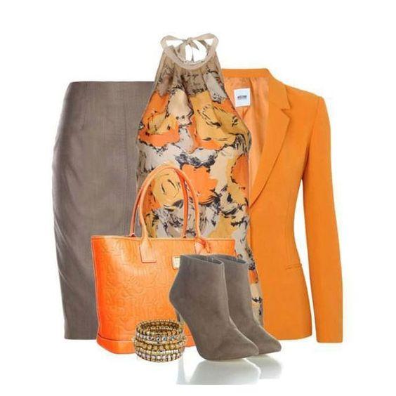 цветотип Теплая (Натуральная) Весна: гардероб