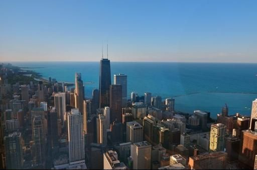 Trump penthouse, listed by Coldwell Banker's own Chezi Rafaeli. View of Chicago facing southeast