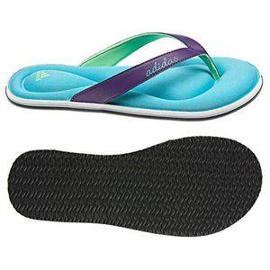 ac7eb974857a adidas memory foam flip flops