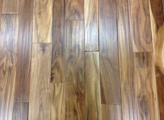 Acacia Plank – Natural – Mixed Width – 3″ & 5″ Widths (Sample)