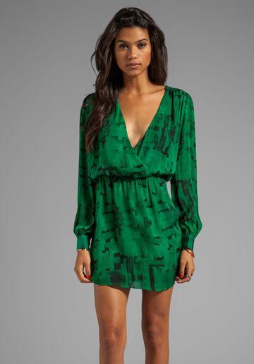 Velvet andi stretch lace dress