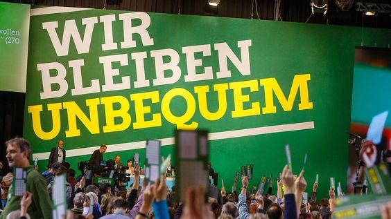 Partei im Zentrum des Lagerwahlkampfs: Die Grünen wirken zerrissen wie lange nicht