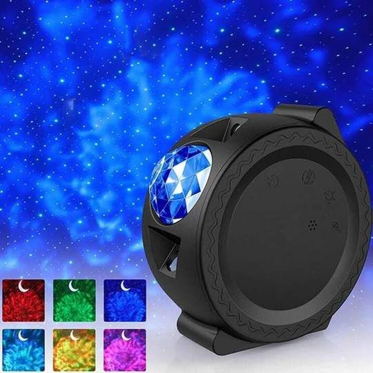 Do You Keep Seeing Tik Tokers With Led Galaxy Projector Lights Now Is Your Chance To Get One Too Project A D Cloud Night Light Starry Lights Star Night Light