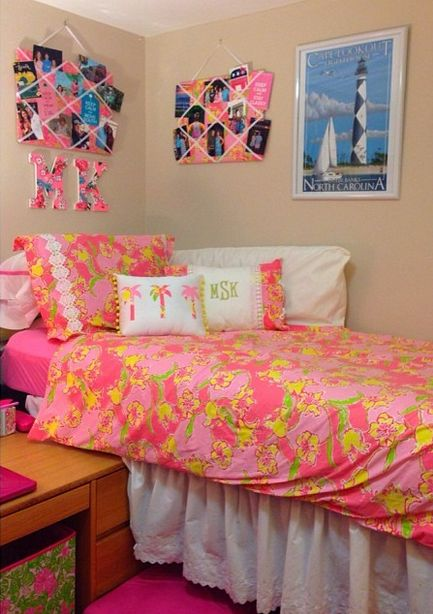 Decorating Ideas > Dream Dorm Decor!  Lilly Luvin Sugar  Pinterest  Lilly  ~ 104706_Dorm Room Ideas Preppy