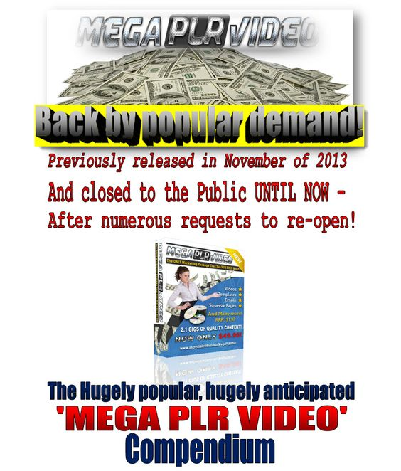 How to sell PLR products to make money | Mega PLR Offer Package! Need products to sell?  Massive 2.1 GIG Collection of TOP content!