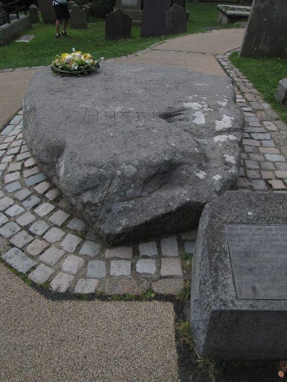 St Patrick stone