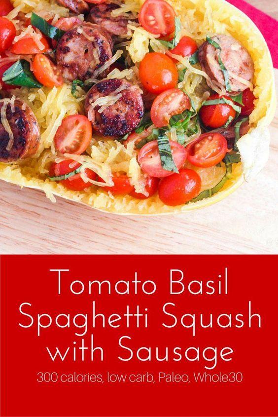 ... spaghetti squash tomato basil squashes spaghetti tomatoes recipe basil