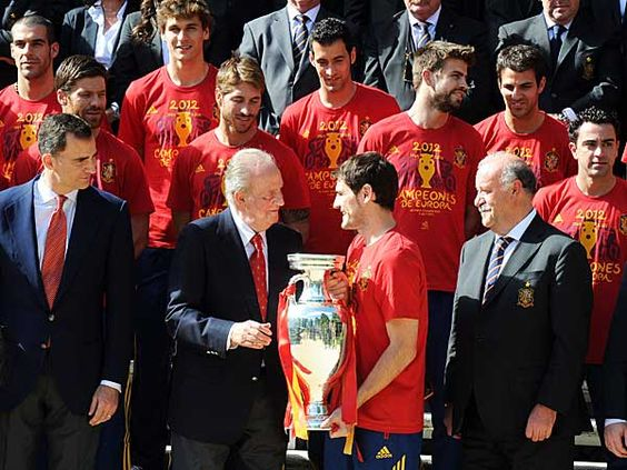 Spain: The values of the greatest soccer national team