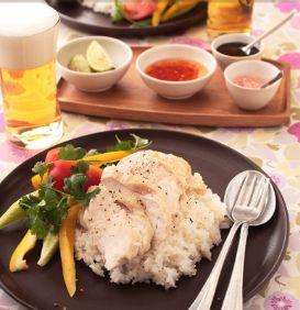 シンガポールチキンライス | お酒にピッタリ!おすすめレシピ | サッポロビール