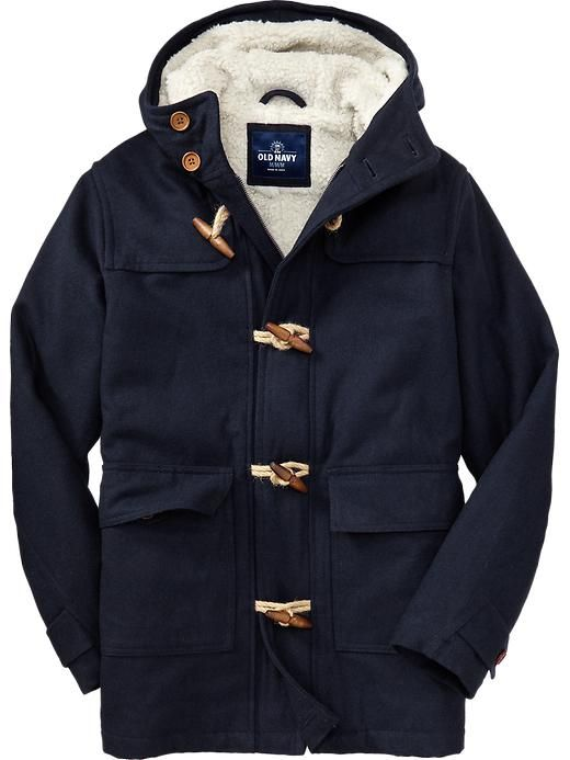 Images of Old Navy Pea Coat Mens - Reikian