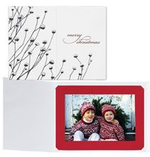 Christmas Cards & Holiday - First Frost Photo Christmas Card Set of 18