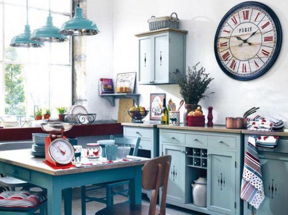 D co de cuisine recherche and maisons de campagne on pinterest - Deco vintage cuisine ...