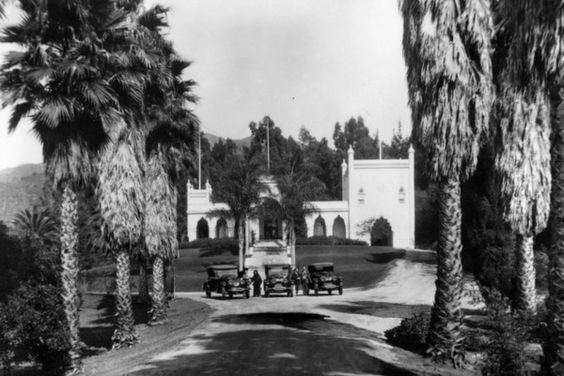 El Miradero, ca. 1920   Courtesy of the Los Angeles Times