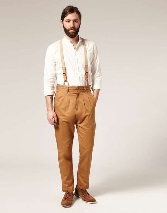High-Waisted Pleated Pants | Trousers Pants and Men pants