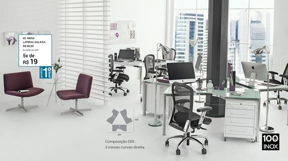 Campanha Office e Home Office Tok