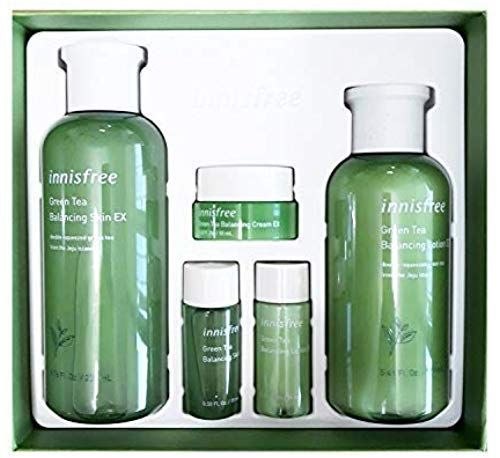 Chic Innisfree Green Tea Balancing Skin Care Set For Normal To Combination Skin 1set 5pcs Beauty 27 5 In 2020 Skincare Set Shampoo For Dry Scalp Combination Skin