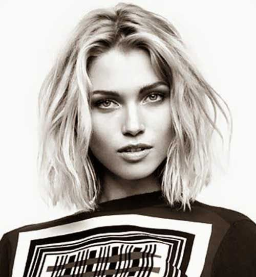 10 Short Hairstyles for Thin Wavy Hair | http://www.short-haircut.com/10-short-hairstyles-for-thin-wavy-hair.html