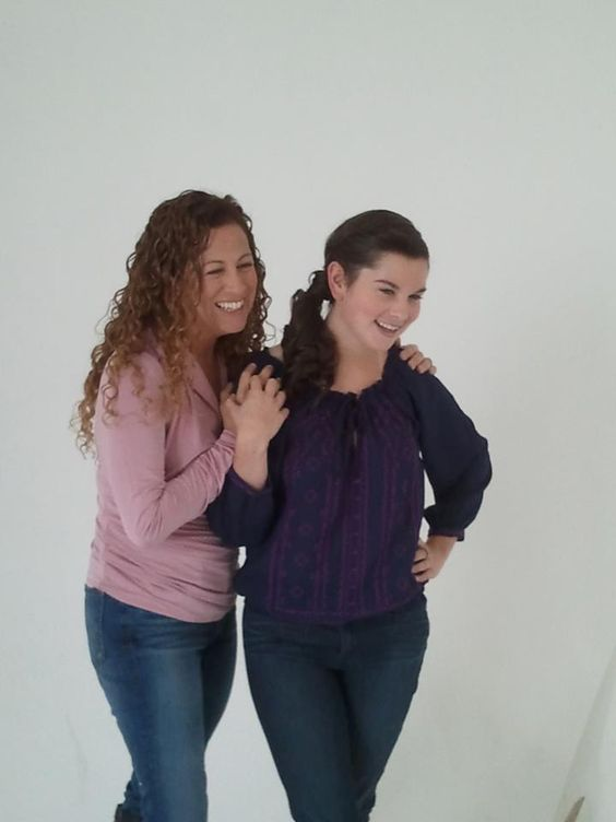 In honor of Mother's Day! Jodi Picoult and Samantha Van Leer