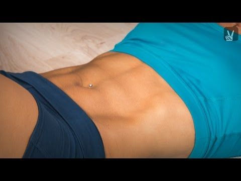 Fitness Workout Bauch Weg Quickie: Sixpack in 7 Minuten - YouTube