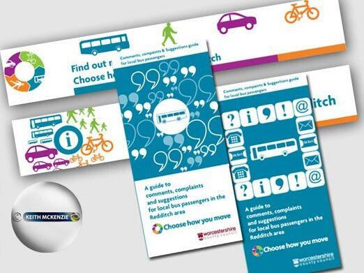 Transport Guide Web Banner For Worcestershire County Council Web Banner Web Design Digital Design