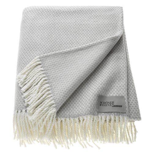 Black And White Zen Blanket Schoner Wohnen Kollektion Knitted Blankets Flannel Throw Blanket