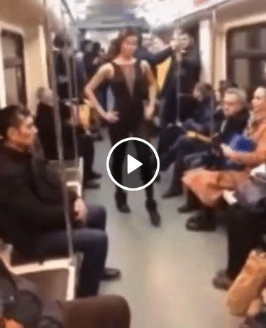 Distração no trem