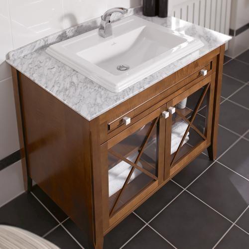 Villeroy Boch Hommage Waschtischunterschrank Mit Waschtisch 2