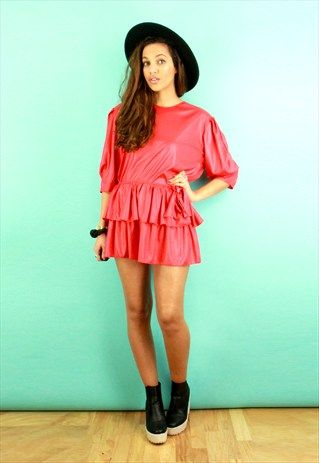 RED FRILL CO-ORD