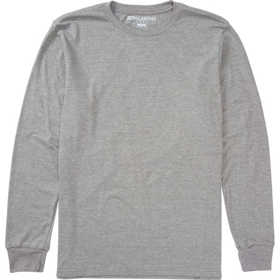 Dark Grey Long Sleeve T Shirt | Is Shirt