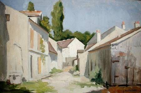 Gustave Caillebotte-Le Clos des Abbesses, Yerres, Essonne