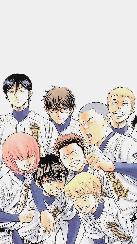 Daiya No Ace Ace Of Diamonds Ace Anime Wallpaper