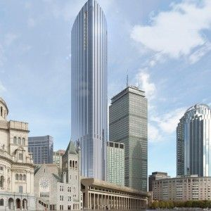 Pei Cobb Freed & Partners Architects LLP | Boston's Tallest Residential Building