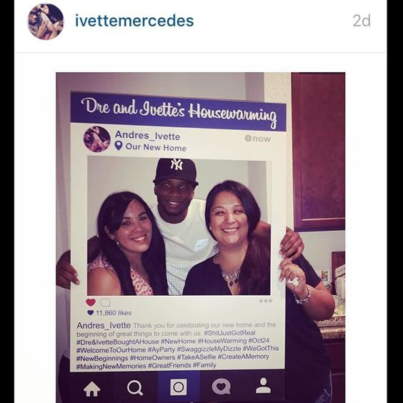 #SocialCutouts are for all celebrations! @ivettemercedes had such wonderful things to say about her cutout while celebrating her new home! Congrats @ivettemercedes and thank you! ------------------------------------------------- Leave your email at socialcutouts.com for a coupon code when we launch our site or find us on etsy by searching socialcutouts! ------------------------------------------------- #socialcutouts #instagramcutout #wedding #weddingplanning #weddingseason #marketing…