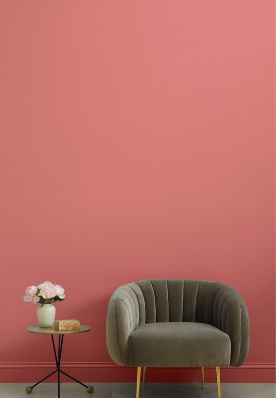 Asakwj4ydet9wm Aesthetic pink room paint color