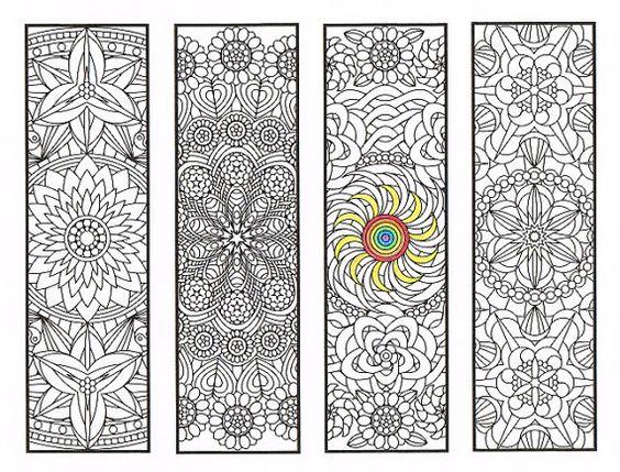 coloriage de signets flower mandalas page 2 coloriages pour adultes grands enfants et votre. Black Bedroom Furniture Sets. Home Design Ideas